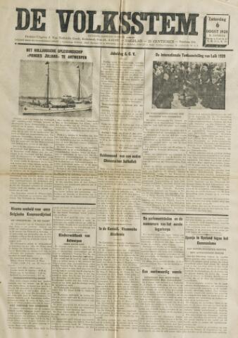 De Volksstem 1938-08-06