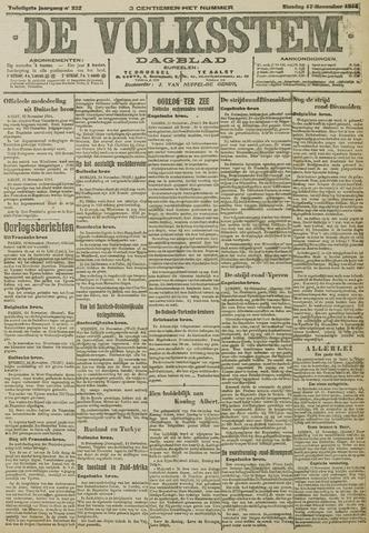 De Volksstem 1914-11-17