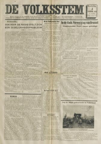 De Volksstem 1938-02-03