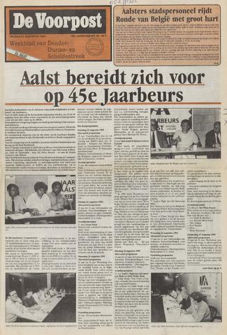 De Voorpost 1992-08-21