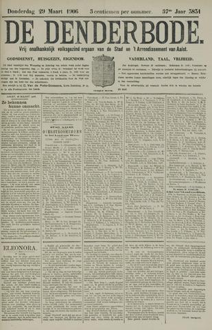 De Denderbode 1906-03-29