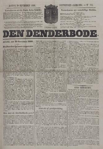 De Denderbode 1860-09-30