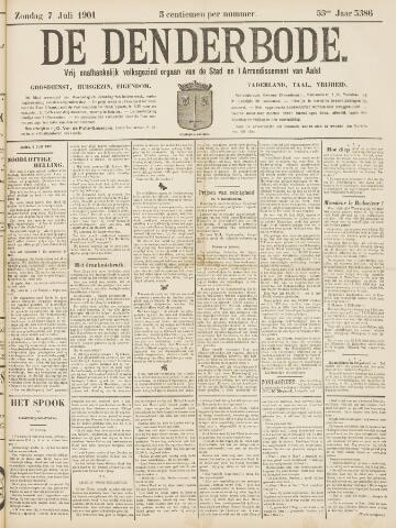 De Denderbode 1901-07-07