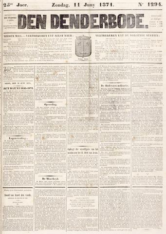 De Denderbode 1871-06-11
