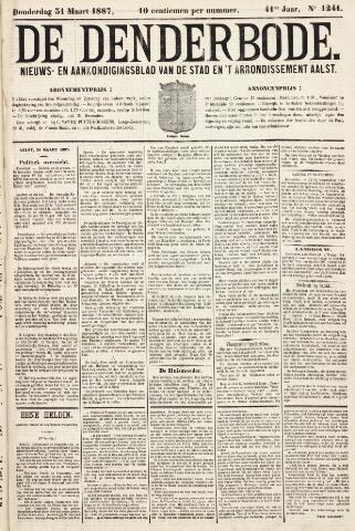 De Denderbode 1887-03-31