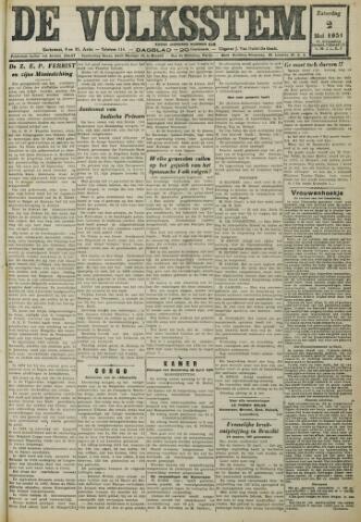 De Volksstem 1931-05-02