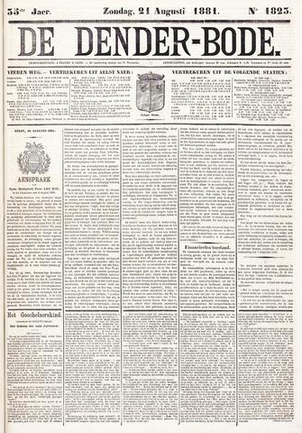 De Denderbode 1881-08-21