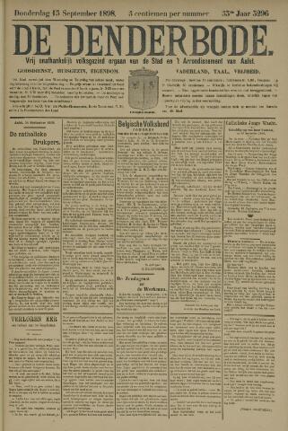 De Denderbode 1898-09-15