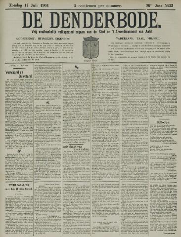 De Denderbode 1904-07-17
