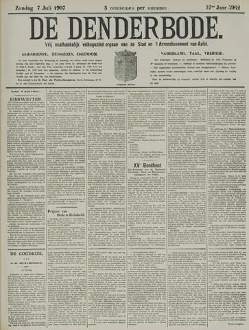 De Denderbode 1907-07-07