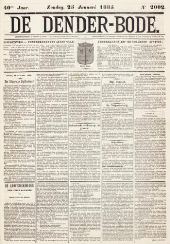 De Denderbode 1885-01-25
