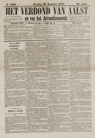 Het Verbond van Aelst 1872-01-28