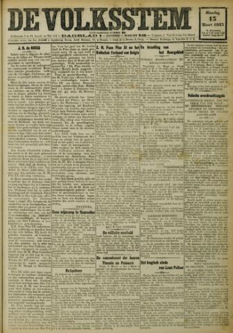 De Volksstem 1923-03-13