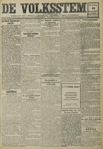 De Volksstem 1931-03-18