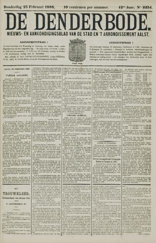 De Denderbode 1888-02-23