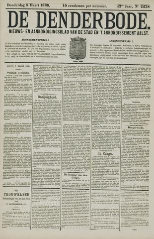 De Denderbode 1888-03-08