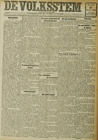 De Volksstem 1923-10-27