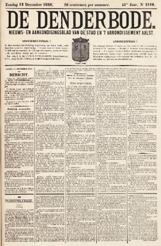De Denderbode 1886-12-12