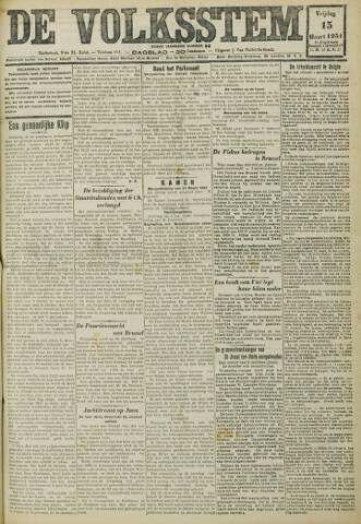 De Volksstem 1931-03-13
