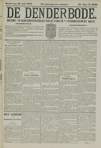 De Denderbode 1894-07-26