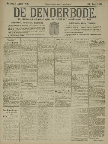 De Denderbode 1898-04-03