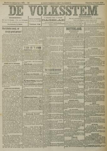 De Volksstem 1910-08-09
