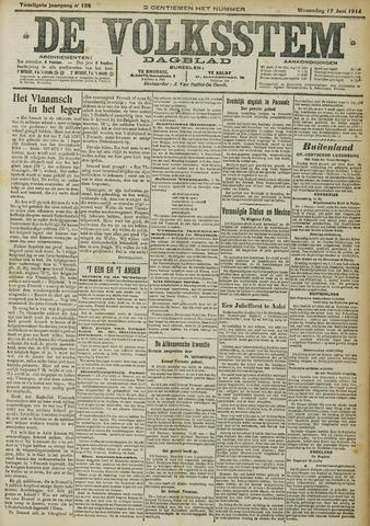 De Volksstem 1914-06-17