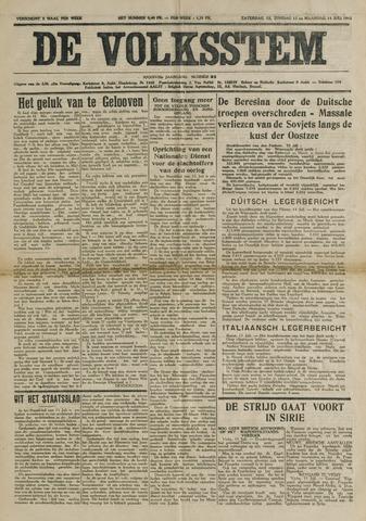 De Volksstem 1941-07-12