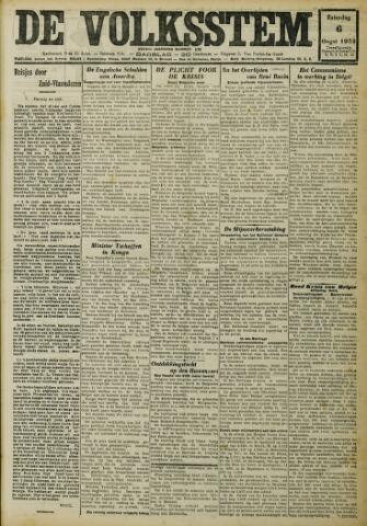 De Volksstem 1932-08-06