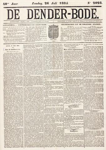 De Denderbode 1885-07-26