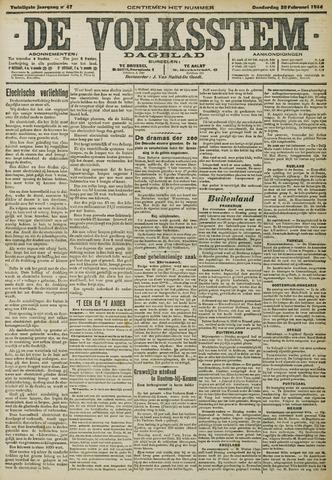 De Volksstem 1914-02-26