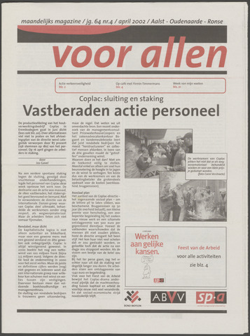 Voor Allen 2002-04-01