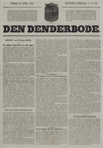 De Denderbode 1853-04-10