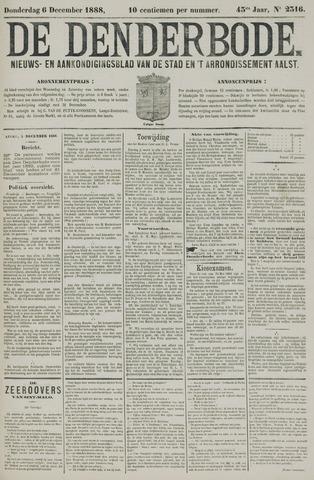 De Denderbode 1888-12-06