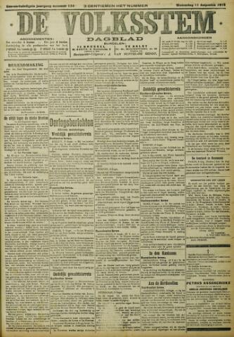 De Volksstem 1915-08-11