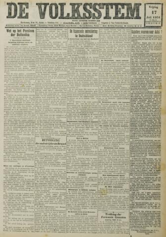 De Volksstem 1931-07-17