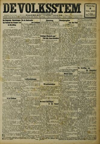 De Volksstem 1923-02-08