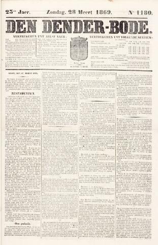De Denderbode 1869-03-28