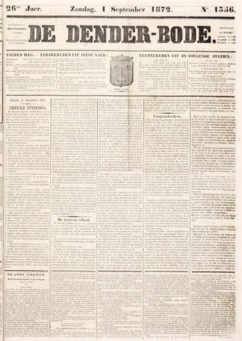 De Denderbode 1872-09-01