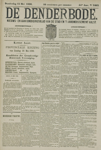 De Denderbode 1890-05-15