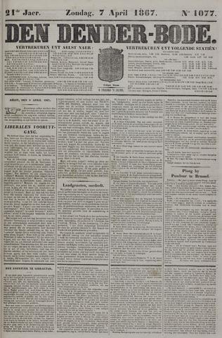 De Denderbode 1867-04-07