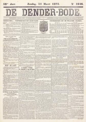 De Denderbode 1878-03-31