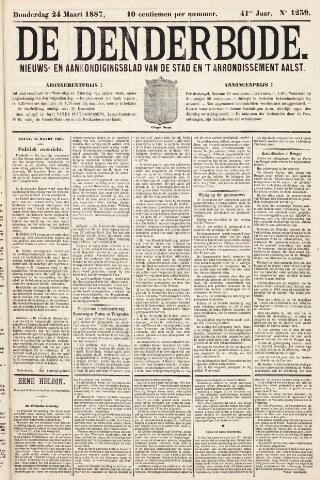 De Denderbode 1887-03-24