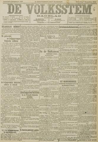 De Volksstem 1914-11-07