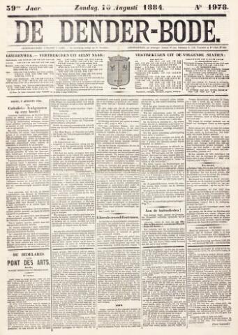 De Denderbode 1884-08-10