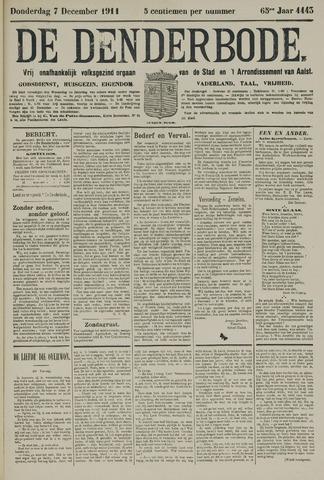 De Denderbode 1911-12-07