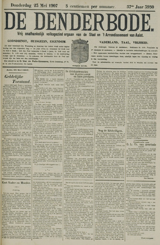 De Denderbode 1907-05-23
