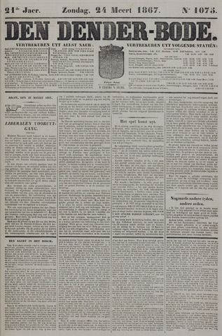 De Denderbode 1867-03-24