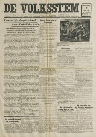 De Volksstem 1938-04-21