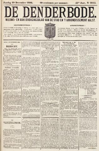 De Denderbode 1886-12-19